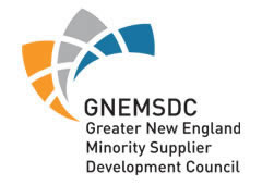 Minority Certified Business (MBE) by GNEMSDC
