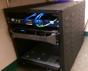 Network Implementation - Server Rack