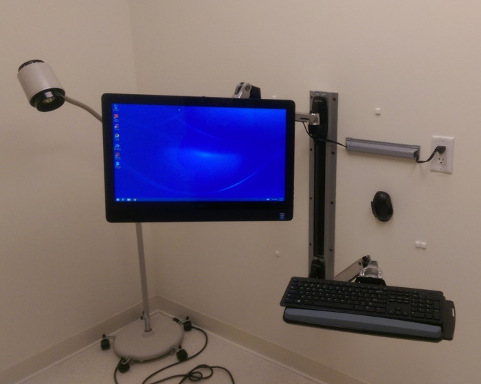 Wall Mounted Computer Arm by TCSP