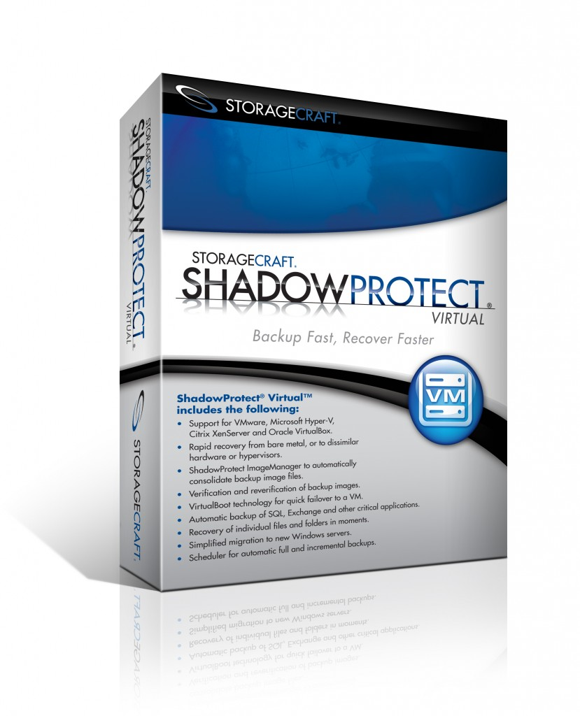 ShadowProtect Virtual Machine Backup